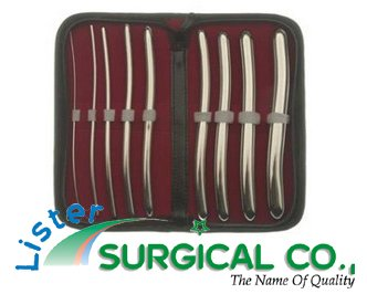 Heagar Probes (Dis) This beautiful set of 9 anal probes comes in a practical and stylish case