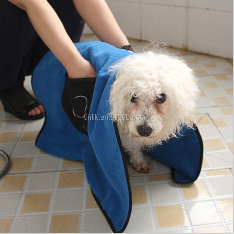 Factory Promotional Microfiber High Absorption Pet Drying Towel