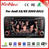 Kirinavi WC-AD7683 Android 7.1 car dvd player for audi a3 2003-2011 navigation gps WIFI 3G Bluetooth
