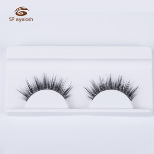 High Quality Regular Real Mink Lashes Hand Made Mink False Eyelashes