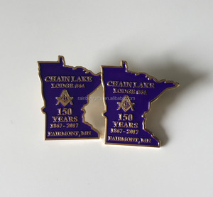 Wholesale custom Masonic items Lapel pins customized special design pin  Badges