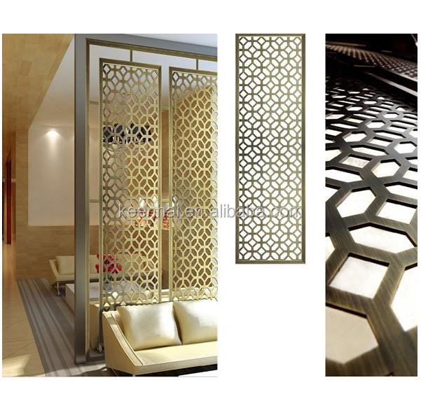 Interior Decoration Aluminium Panel : Interior modern design aluminum home room partition panels