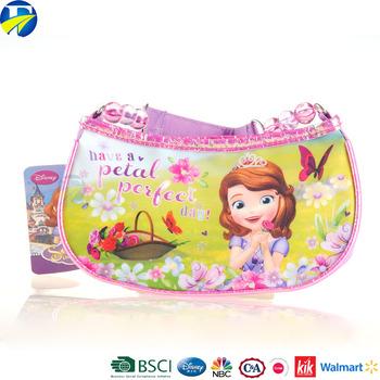 Fj Brand Diy Polyester Handbag Baby S New Design Sofia Princess For Kids