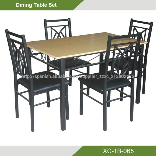 oferta Barato Mesa Comedor más 4 sillas (5 piezas)XC-1B-065-Sets ...