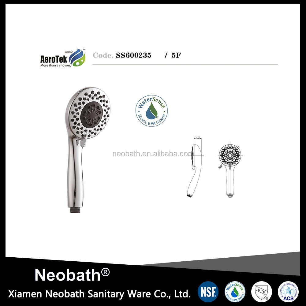 High quality Water Saving Rain Single nature mist hand shower