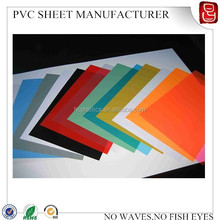 Calendar and Extruded rigid pvc sheet manufacture color pvc sheet
