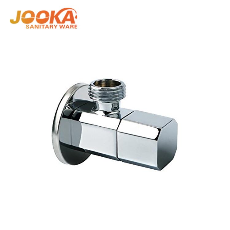 Quick open square octagon bathroom angle valve