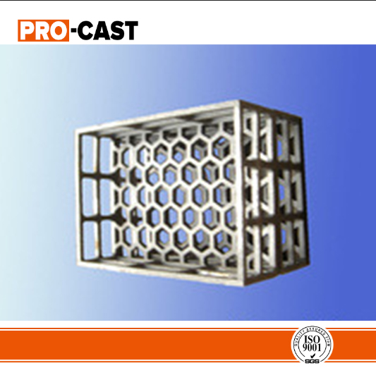 iso wrought iron forged cast baskets