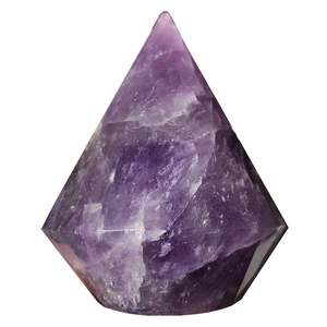 Carved natural dark purple amethyst quartz crystal stones extractors for  healing dropshipping