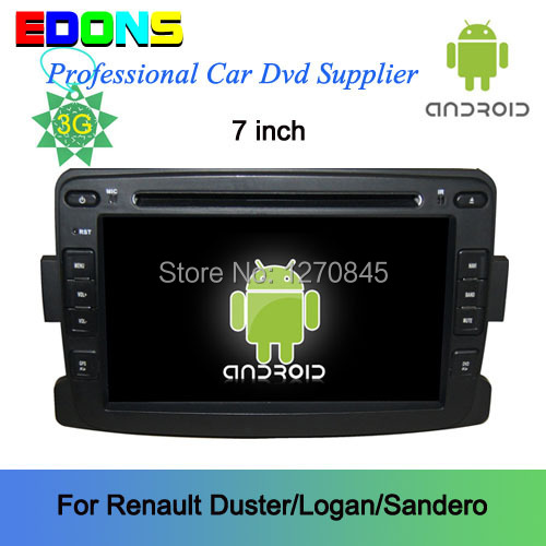 7 android 4 2 en dash cran tactile voiture dvd gps pour renault duster voiture radio dvr. Black Bedroom Furniture Sets. Home Design Ideas
