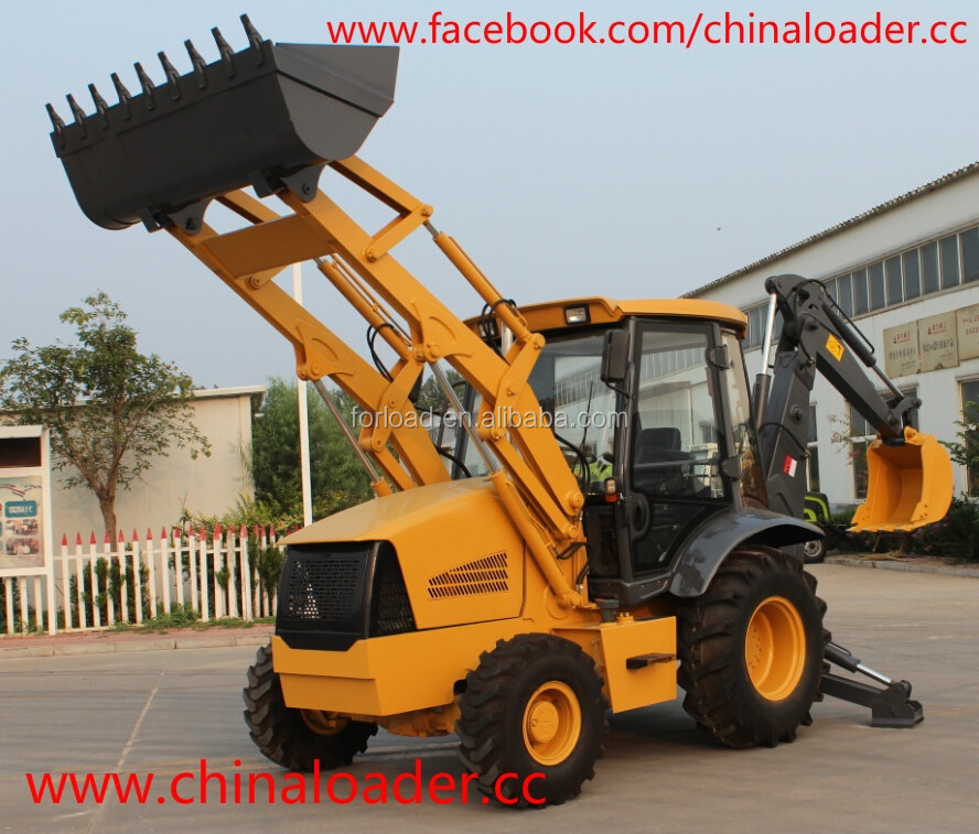 CE approved Chinese brand mini backhoe loader for sale