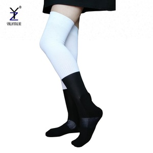polyester long rugby socks for sublimation, custom sublimated football  socks, custom printed thigh high socks