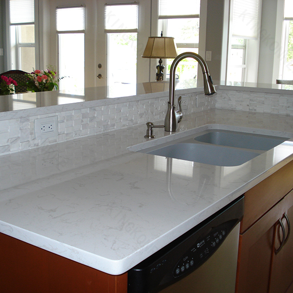 The Artificial Marble Quartz Kitchen Countertops Prices