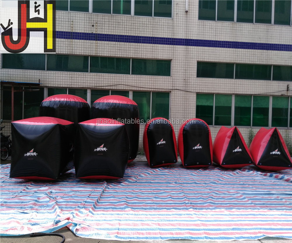 Factory Price Archery Inflatable Bunkers Paintball For Sale