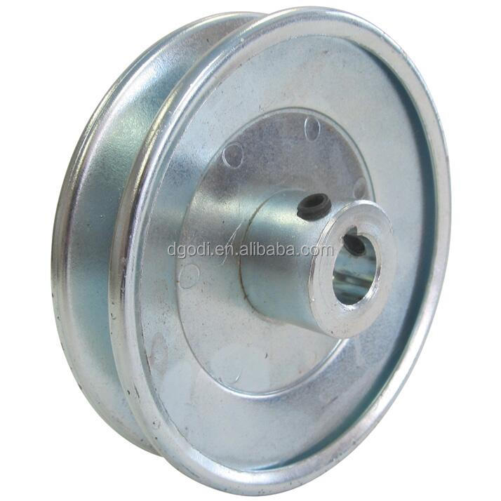High performance Heavy-duty split steel construction v belt pulley for outdoor power equipment