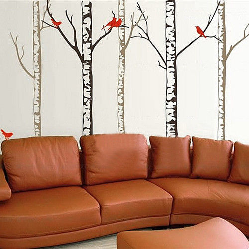 Tree Vinyl Wall Decals Nursery Forest Family Tree Wall Stickers Art Decor Murals Wall Sticker Tree