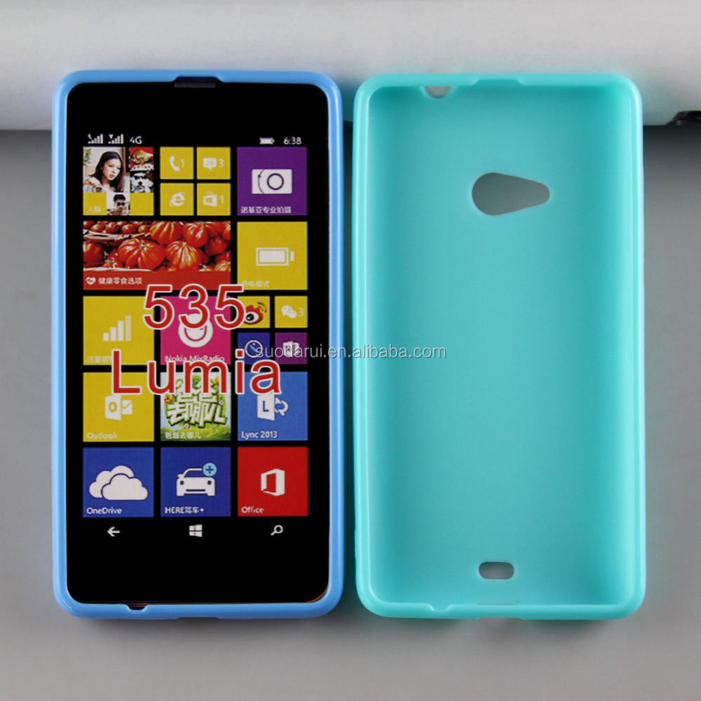 Mix Color For Microsoft Lumia 535 Tpu Gel Case W Wave Soft Cover ...