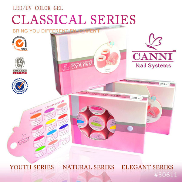 Canni Nail Art System Easy Off Color Uv Gel#30611j - Buy Easy Off ...