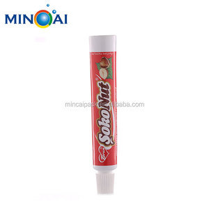 Aluminum Foil Sealing Chocolate Collapsible Tube