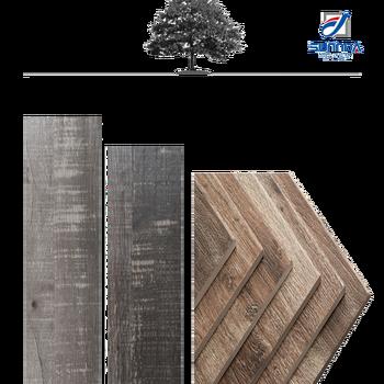 3d digitaldruck holz planke look porzellan fliesen 6x36 grau holz asche holzoptik keramikboden fliesen graue
