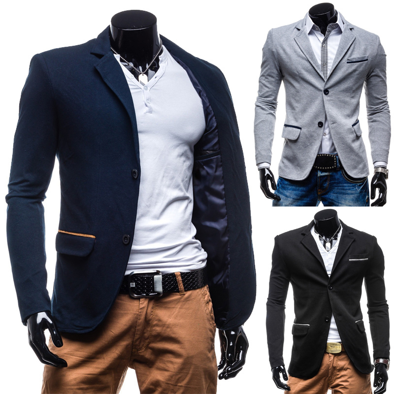 veste blazer homme fashion slim fit