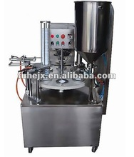 KIS-900 Rotary type Automatic sauce k cup filling sealing machine