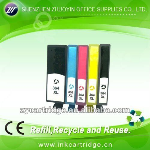brand new fission ink cartridge for hp 364