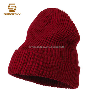 1b0a26fe17aa9 Knitting Red Beanie