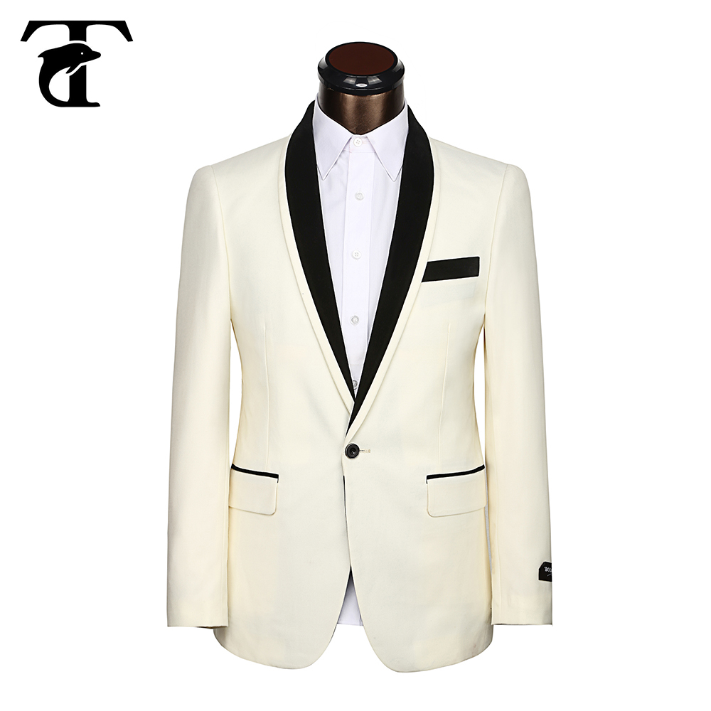 Cream Mens Suit Dress Yy