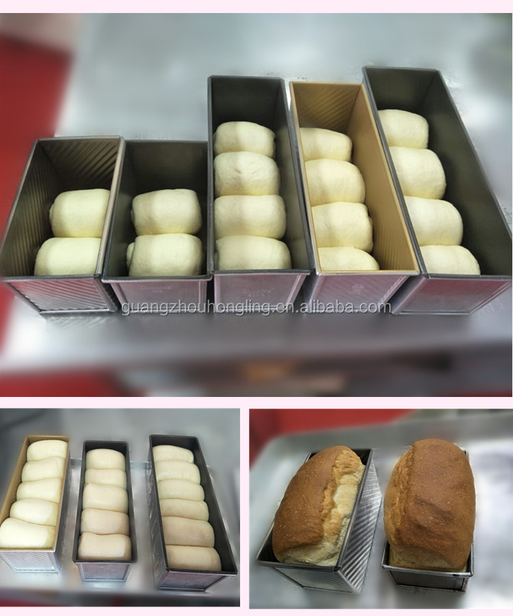900g Non Stick Toast Bread Baking Loaf Pan For Bakery