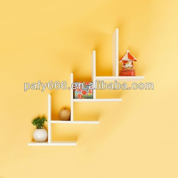 Wooden Wall Cd Rack,E1 Mdf Kd Decorative Floating Shelf - Buy Wall ...