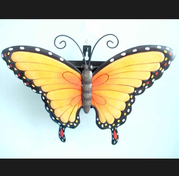 Lovely Metal Wall Art Butterflies Contemporary - Wall Art Design ...