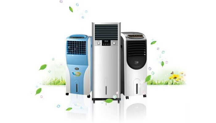 Small Eco-friendly Air Cooler And Heater Humidifier Electric Room ...