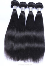 Hair product Factory Hot sale Straight Virgin Non-Remy Brazilian Hair wave good quality