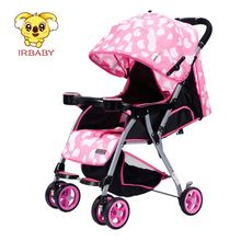 2017 New fashion Baby Pram High Quality Good Price Reversible handle Baby Stroller