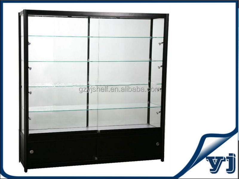 Corner Glass Display Cabinet,High Tall Glass Display Cases For ...