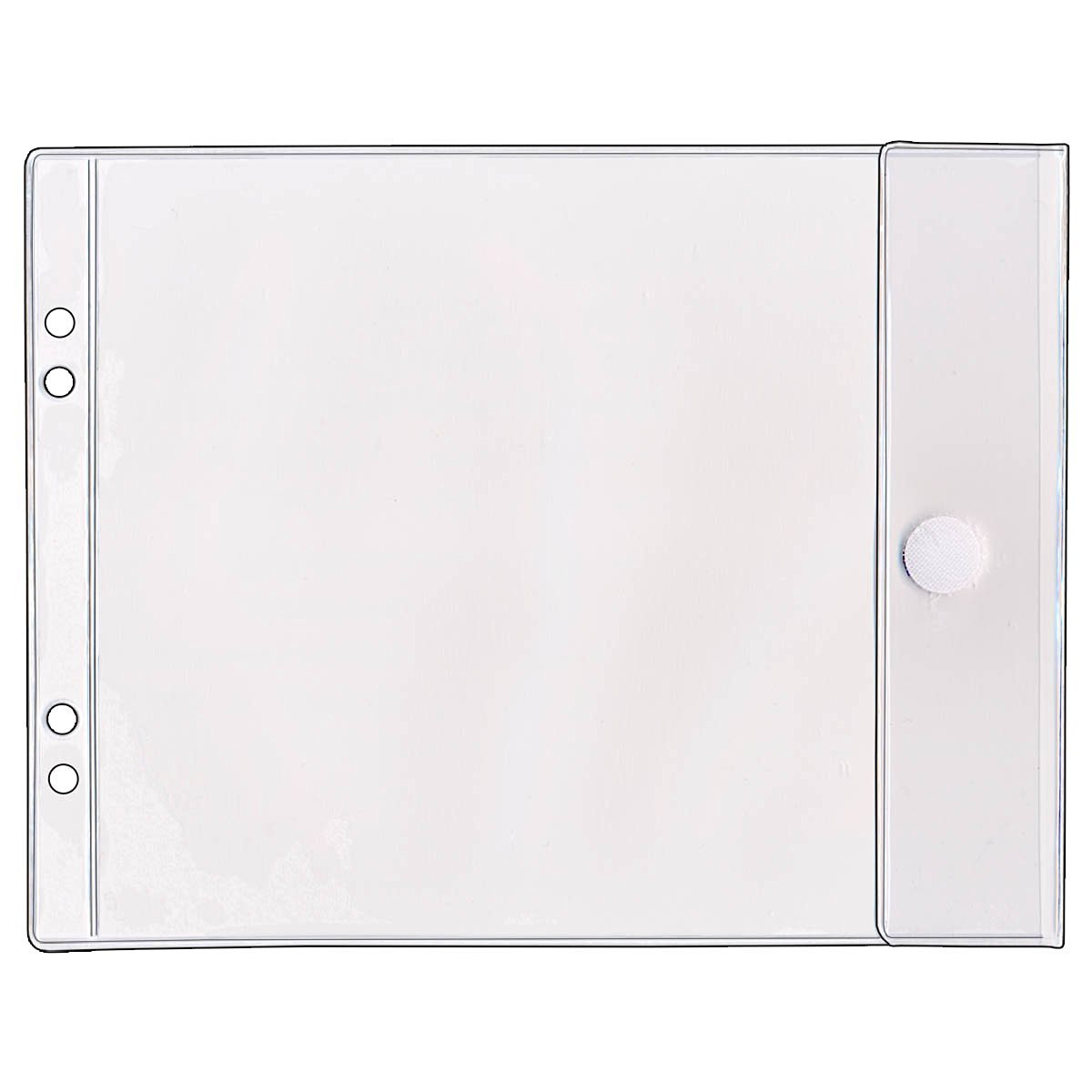 for Velcro Round Hook Fastener VEK90204 White 100 // Pack