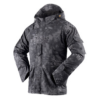 New Leaf Camo Men's Outdoor Hunting Waterproof Jackets Hoodie