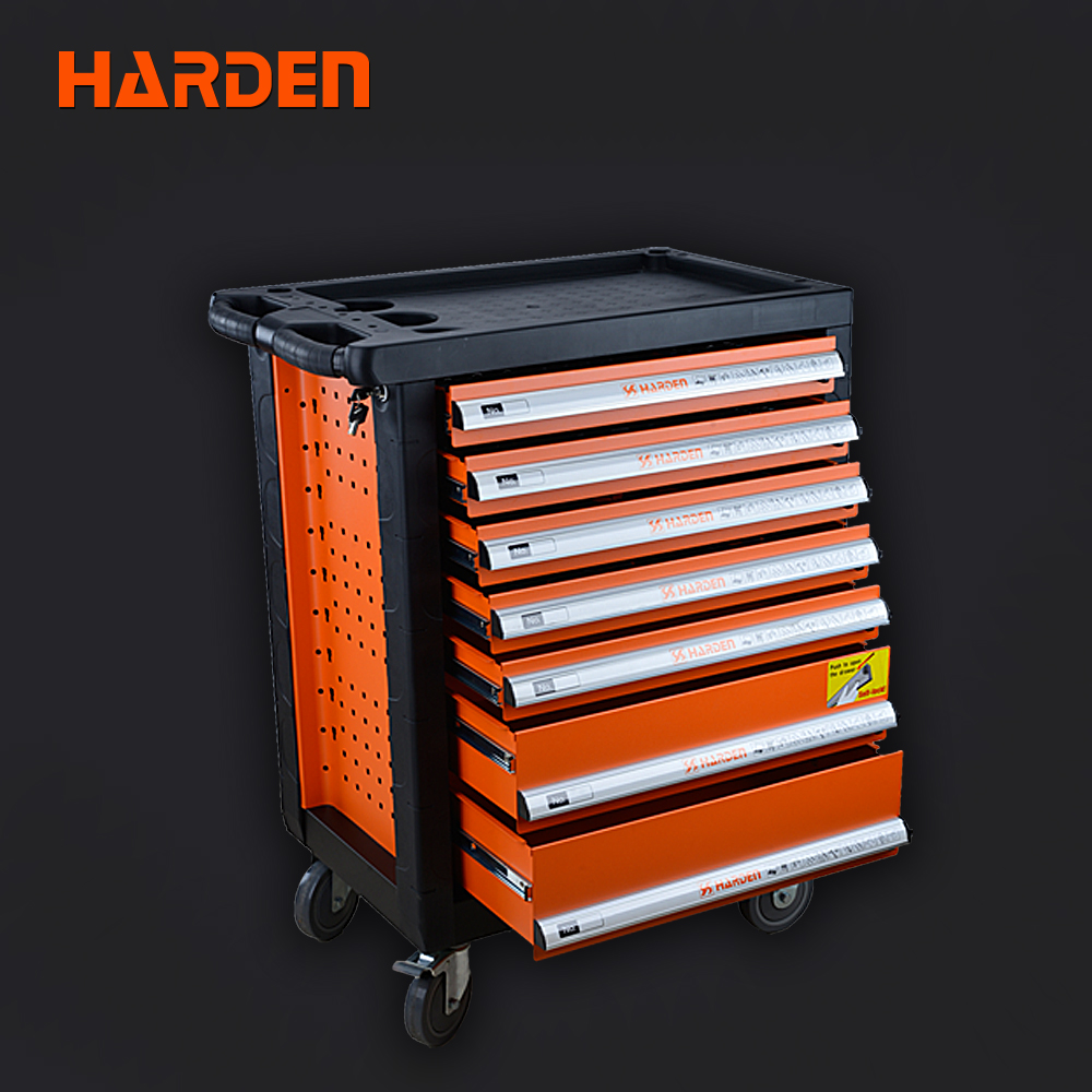 Tool Box Cabinet 7 Drawers Roller Metal Tool Trolley