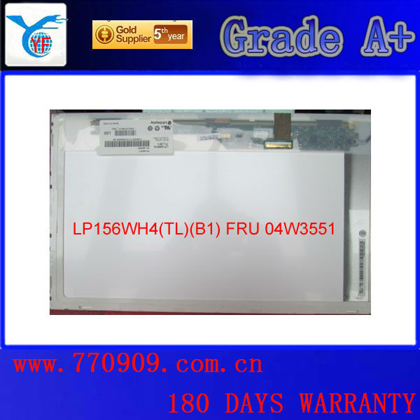 100% original and brand new lcd screen <strong>monitor</strong> LP156WH4-TLB1 for laptop