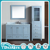 Modern used bathroom vanity wood side cabinet design