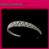 Custom Brand New Pageant Princess Romantic Bridal Tiara for Wedding Hair Accessories