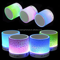LED Wireless Blue tooth Speaker A9 TF Card USB FM mini portable rechargeable blue tooth speaker