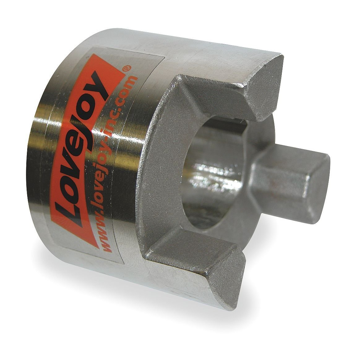 1 x 5//8 Lovejoy Style Complete Hydraulic Jaw Coupler w//Spider Series L095 Coupling