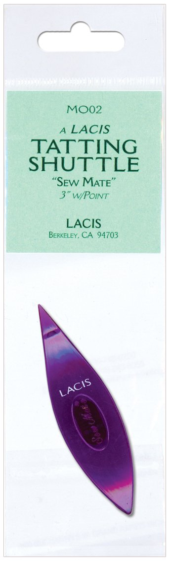 Lacis Bulk Buy Sew Mate Tatting Shuttle Pointed Tip-Pink 3-Pack