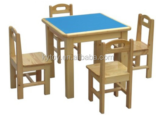 Mesa de madera para ninos - Mesas madera ninos ...