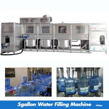 900bph 5 gallon Bottle Water Filling Machine /Automatic cleaning machine water equipment