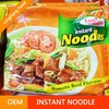 Hot Sell Instant Noodle Beef Flavor, Private Label OEM