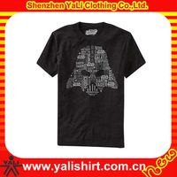 Custom soft jersey t shirt printing design for men
