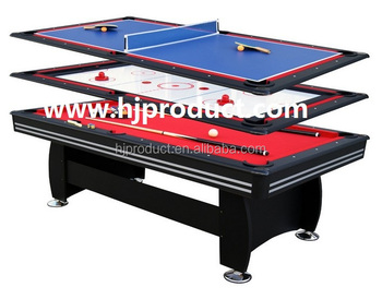 Hot Selling 3 In 1 Multi Game Table Pool Table Table Tennis Table Push Hockey Table View 3 In 1 Multi Game Table H J Product Details From Guangzhou H J Sport Products Co
